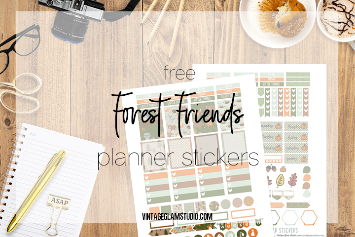 desktop. planner stickers