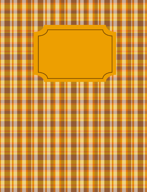 fall binder printable