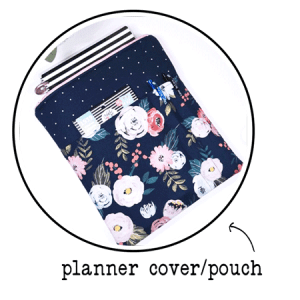 planner cover or pouch