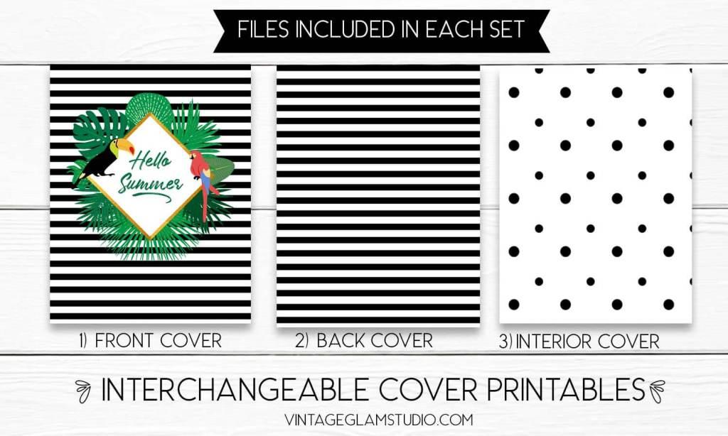Erin Condren interchangeable planner cover