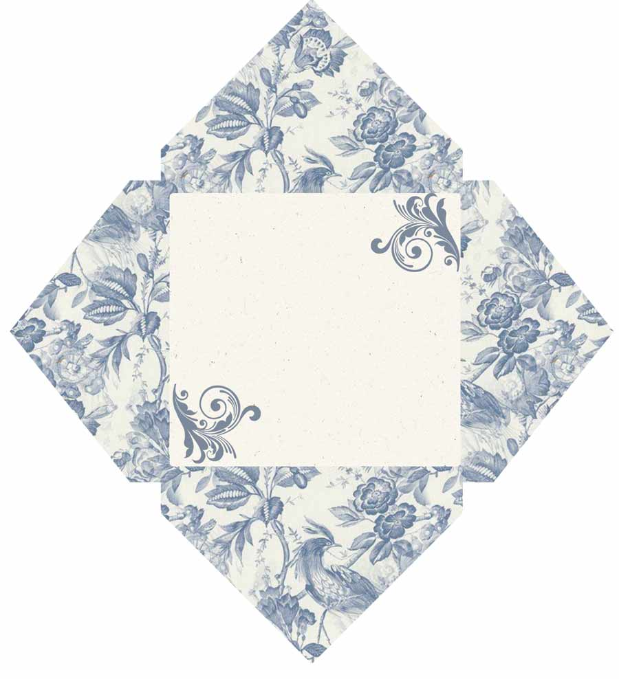 shabby chic mini envelope