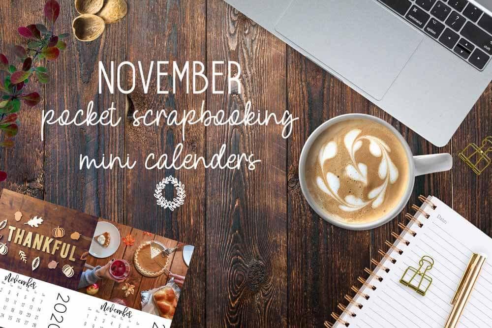 mini calendars, desktop