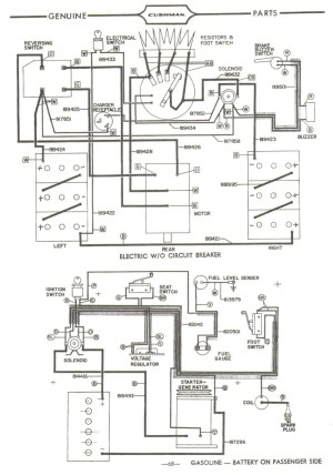 1970 Cushman Golf Cart Wiring Diagram  Somurich