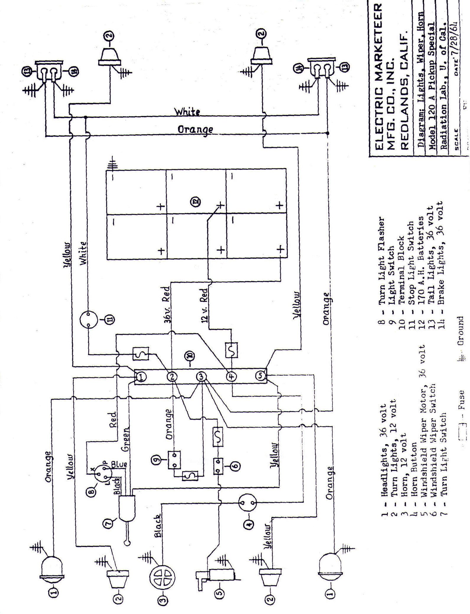 Club Car Battery Gauge Wiring Diagram