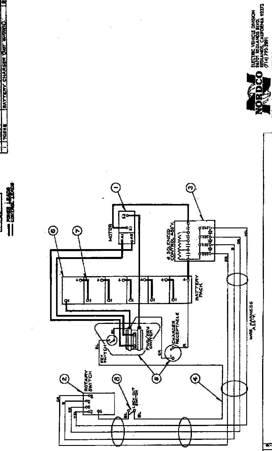 Westinghouse Golf Cart Wiring Diagram Trusted Diagrams Taylor Dunn Battery Marketeer 1965 78 Models 436 437 438 Beautiful