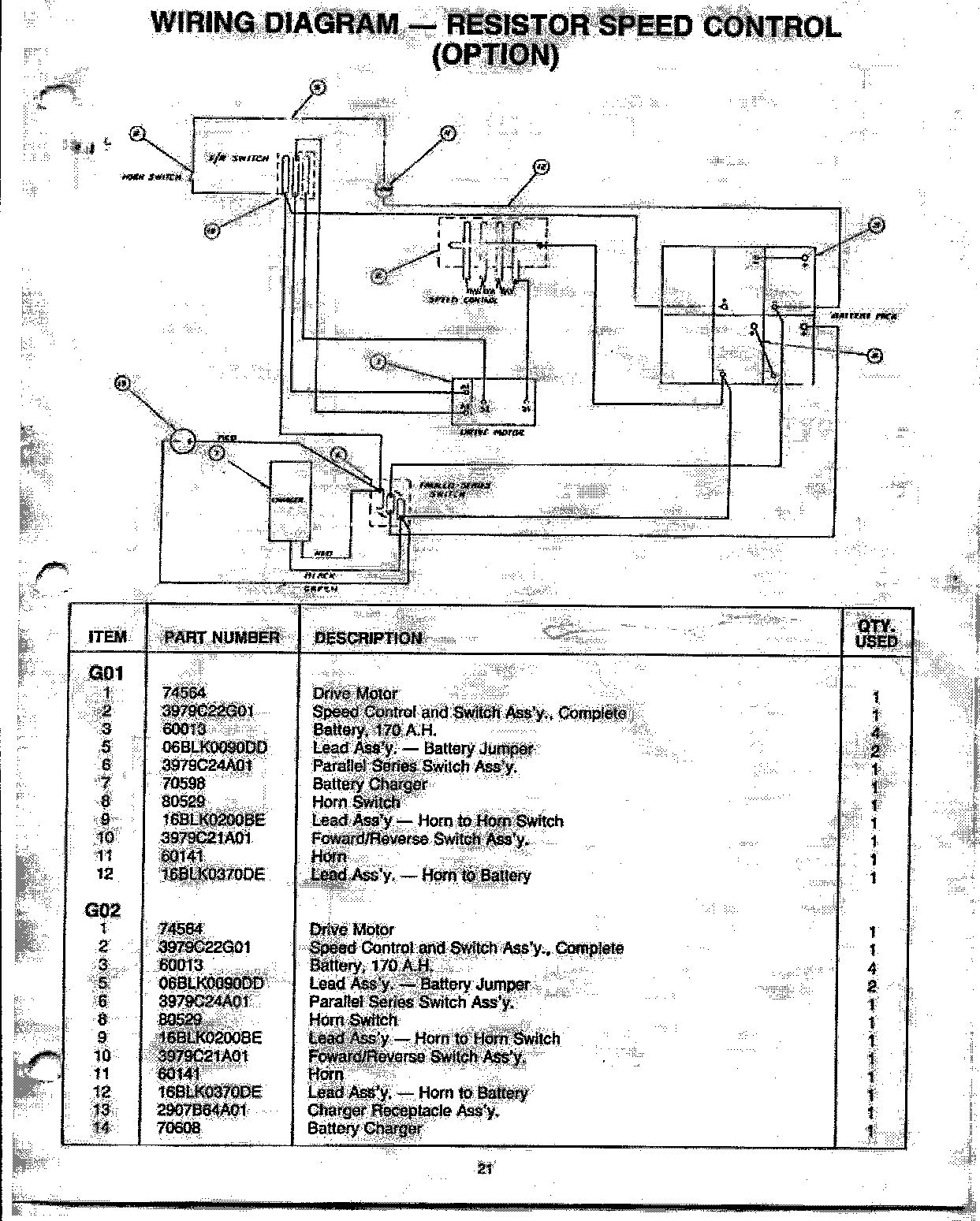 Melex Golf Cart Wiring Diagram