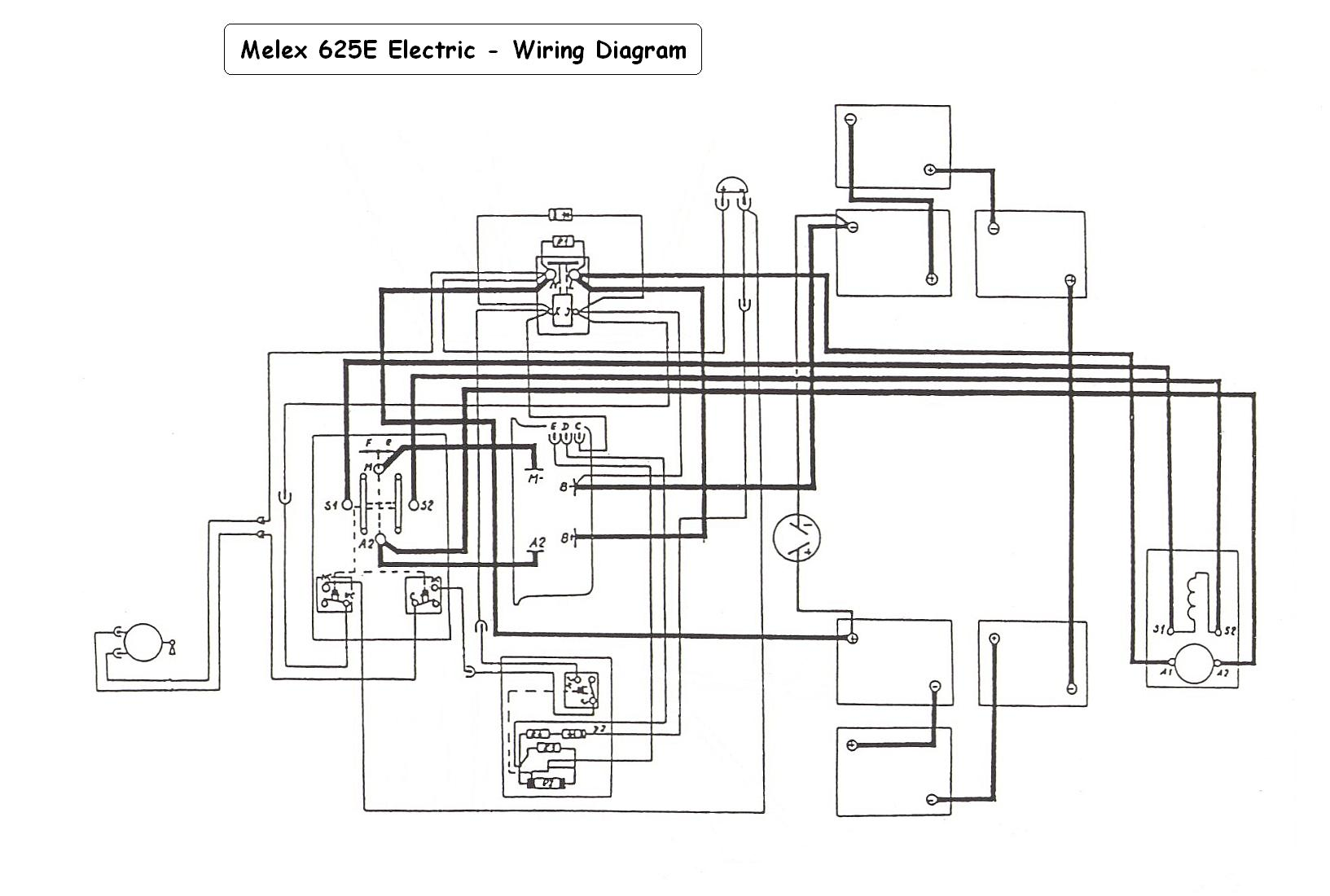 Wiring Diagram For Yamaha G9 Golf Cart