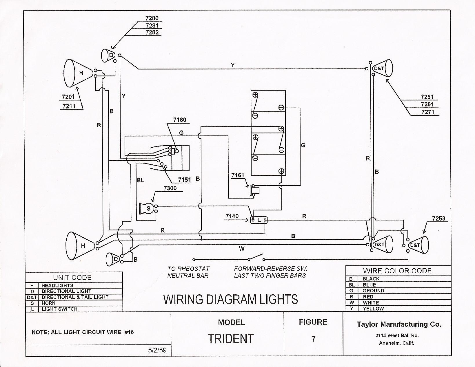 Ezgo Marathon Golf Cart Wiring Diagram Wire Detailed