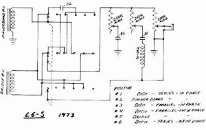 Gibson L6S schematics & parts lists >> Vintage Guitar and