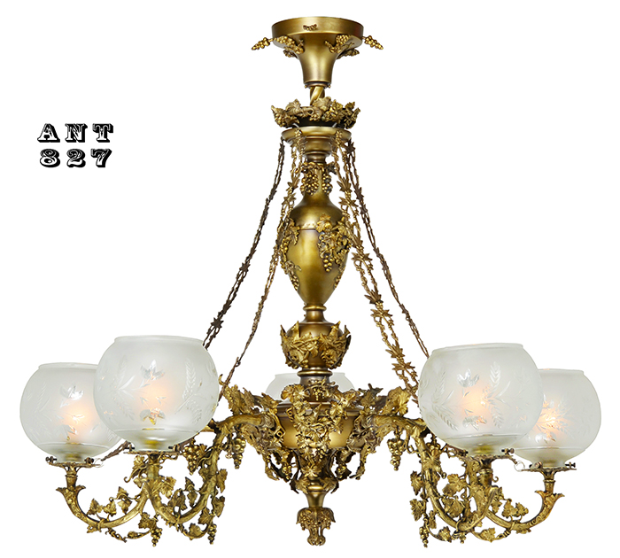 Vintage Hardware Amp Lighting Antique Victorian Rococo 5