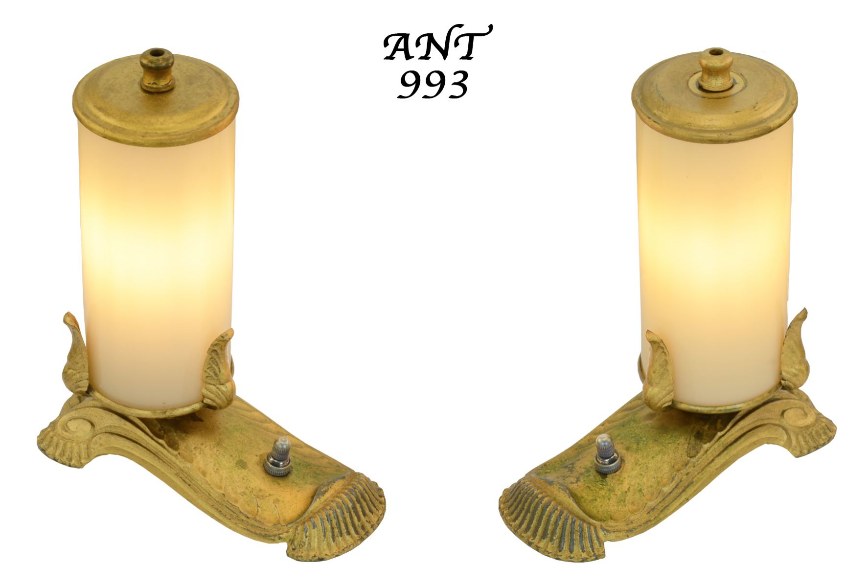 unusual edwardian style small accent table lights ant 993