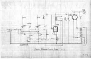 Selmer Little Giant Mk1 Schematic