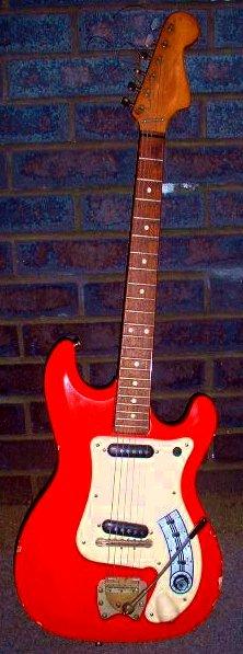 Mick Price S Futurama 2 De Luxe Guitar