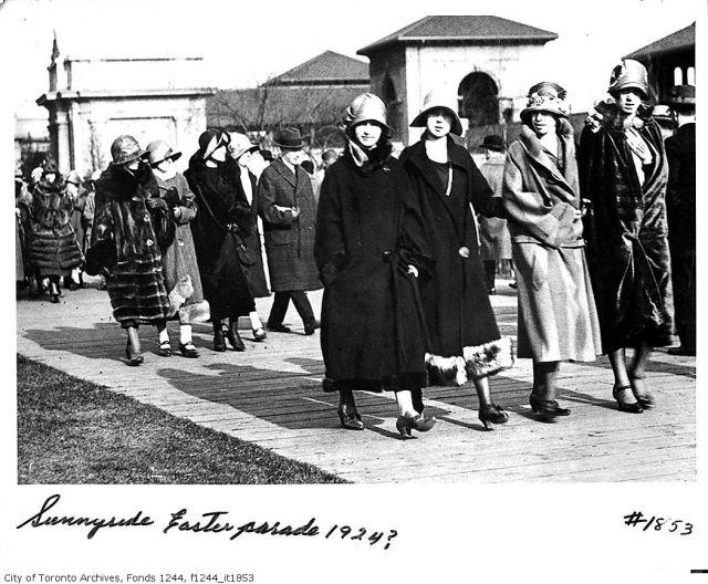 1920's easter parade toronto