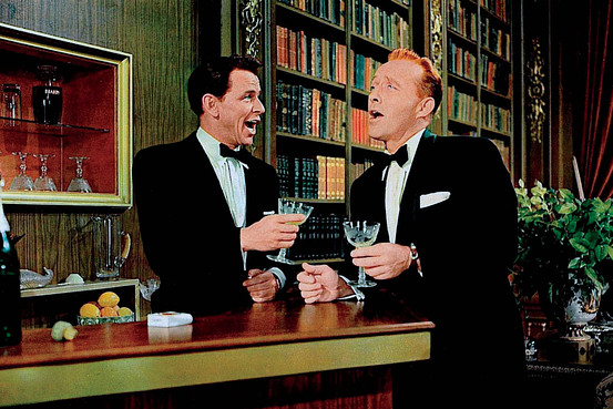 bing crosby and frank sinatra cocktail look
