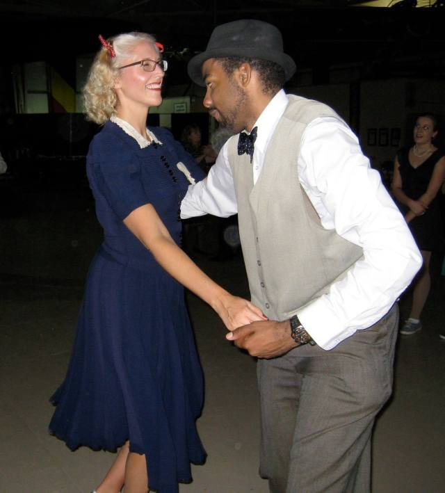 Lindy Hop at a 1940s dance