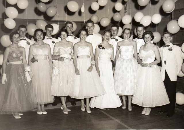 1950s Prom Court