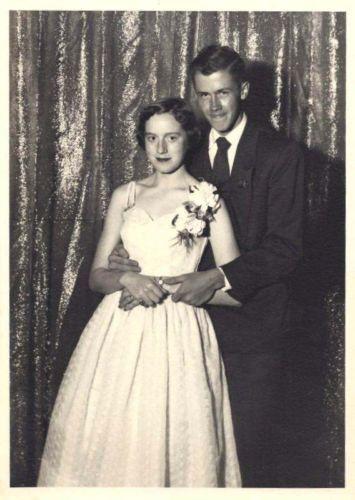 1953 Prom Couple