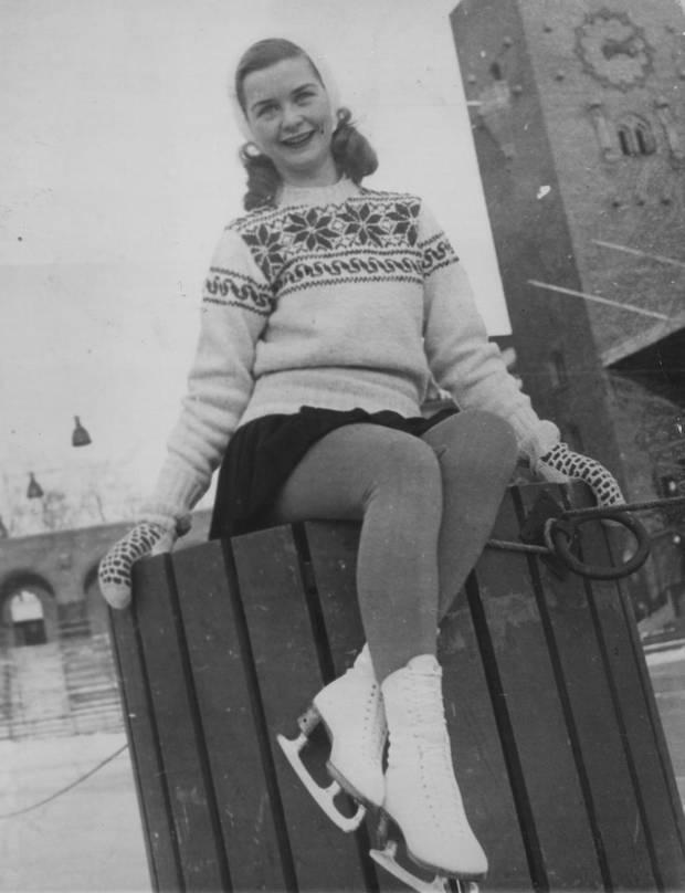 Barbara Ann Scott 1948 Championships