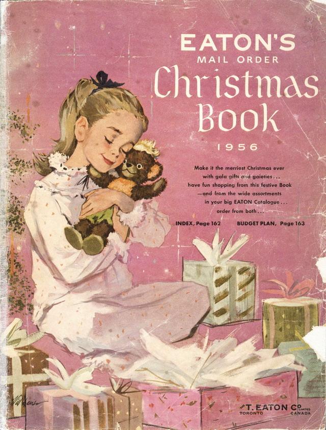 Eatons Christmas Catalogue 1956