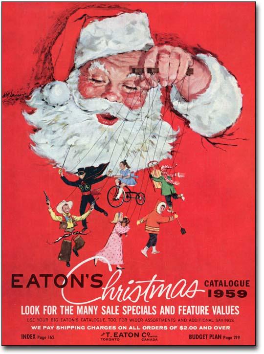 1959 Eatons Christmas Catalogue