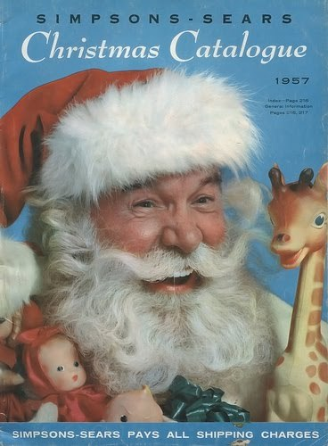 Simpson-Sears 1957 Christmas Catalogue