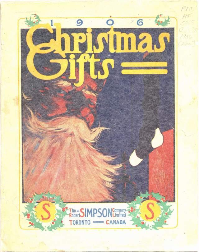 Simpson Christmas Catalogue