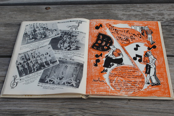 1940s Yearbook Vintage