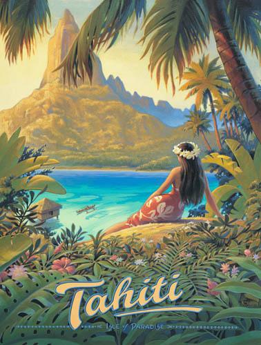 Vintage-Tahiti-Travel-Poster