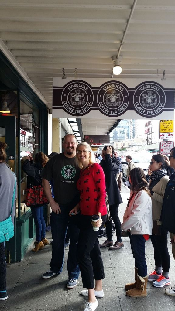 Seattle Washington first Starbucks