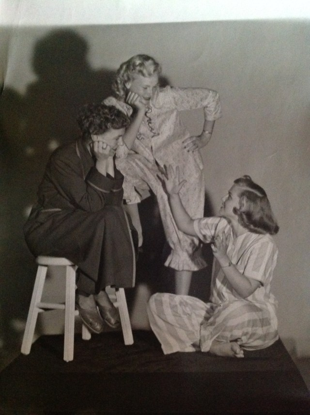 1940s/1950s Pajama Party vintage image