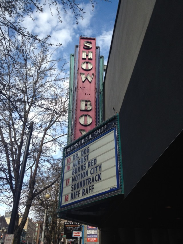 Showbox Theatre Seattle Washington