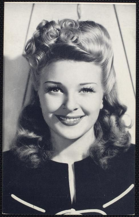 1940s Hairstyle Evelyn Ankers