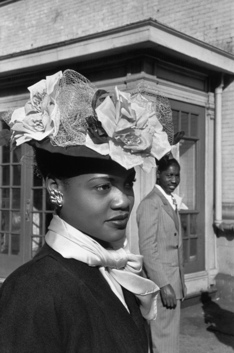 Henri Cartier-Bresson, Easter Sunday in Harlem, NY 1942