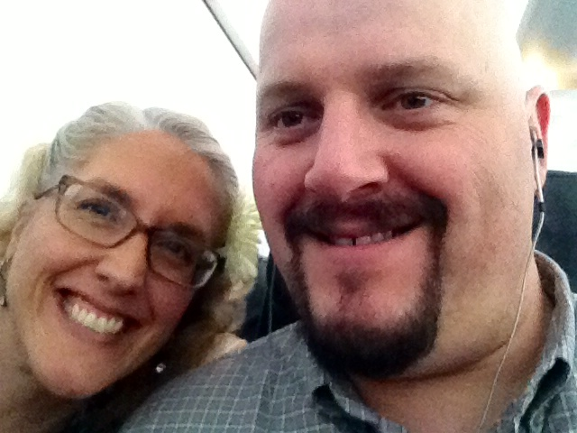 on the plane to VLV 18