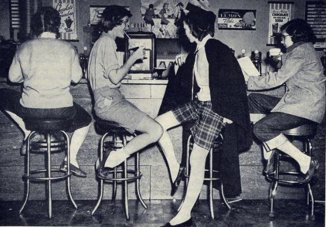 1952 malt shop image