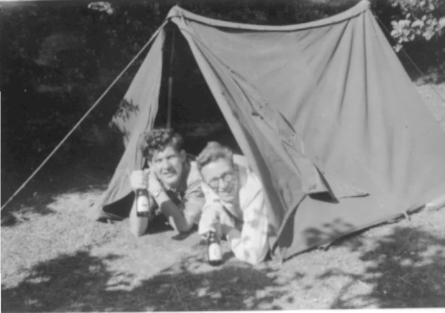 Camping 1950s