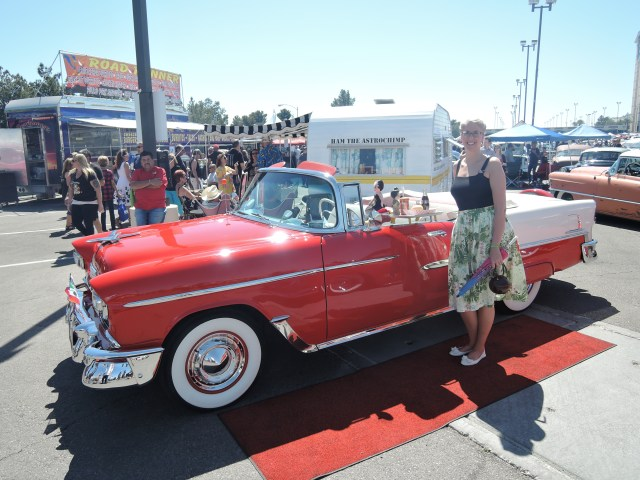 Vintage Car Viva las vegas rockabilly weekend car show 18 2015