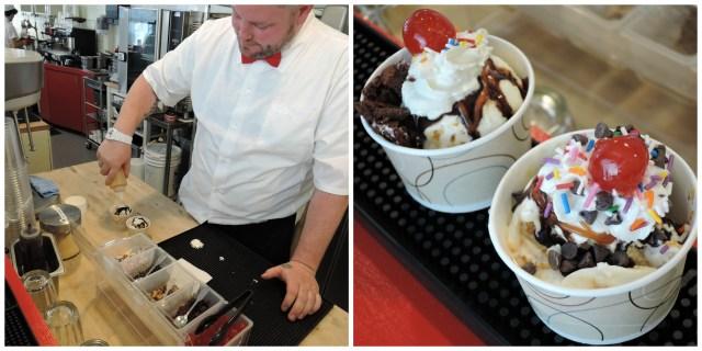 Ice Cream Sundaes from Bean and Baker Malt Shop