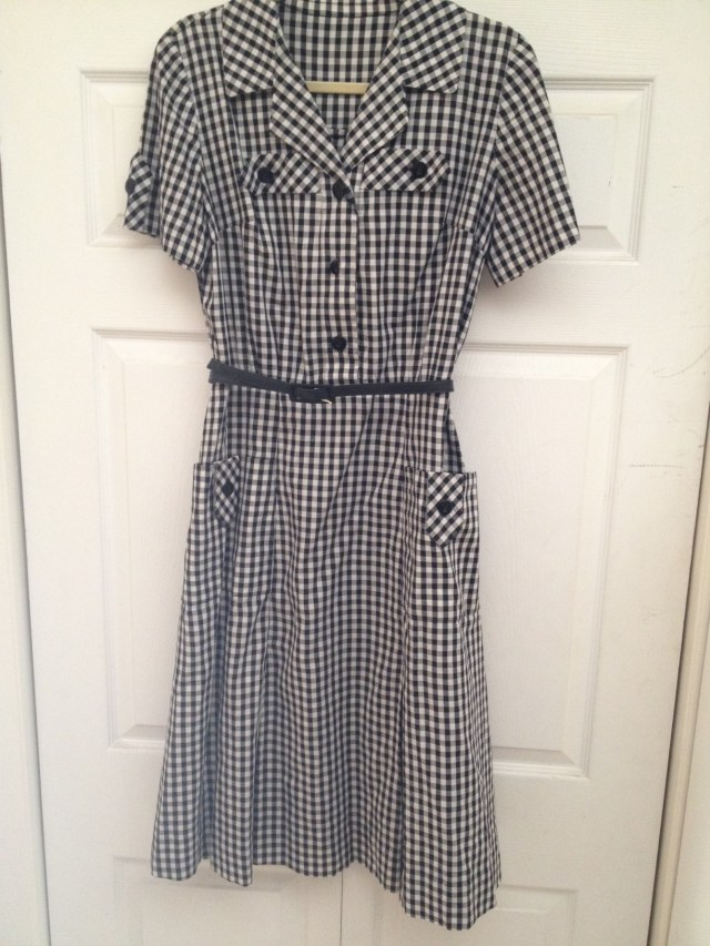 1950s Vintage Shirtwaist Dress