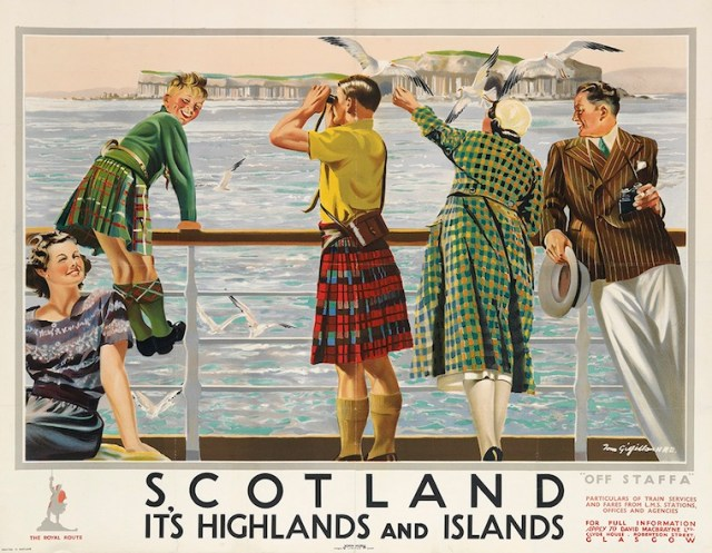 Vintage Travel Scotland Poster