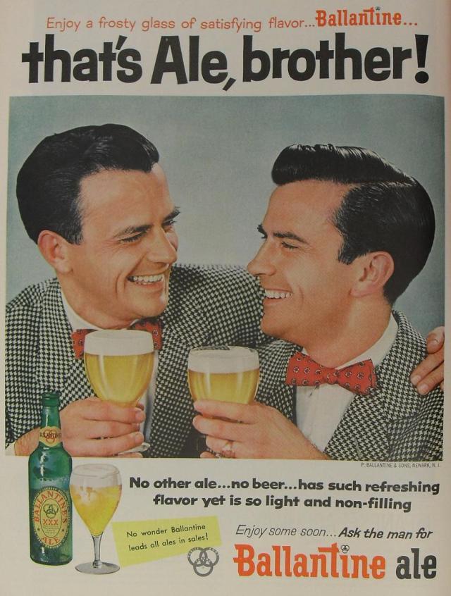 vintage beer advertisment