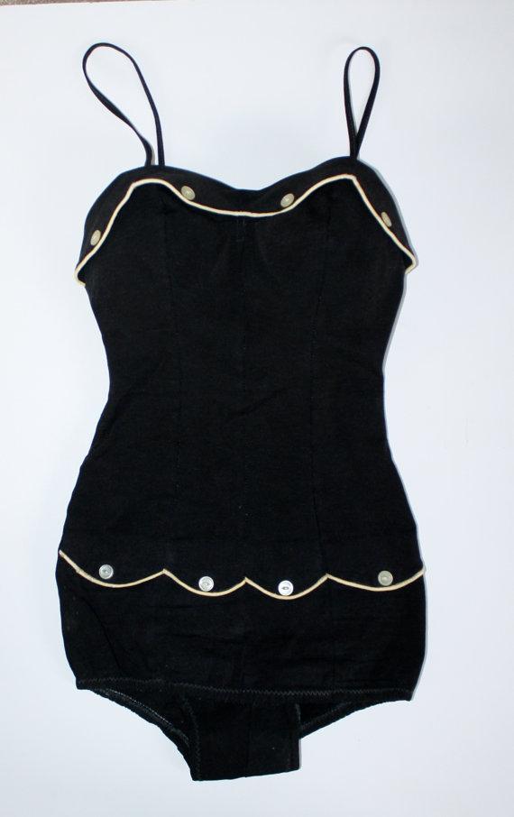 1950s vintage swimsuit