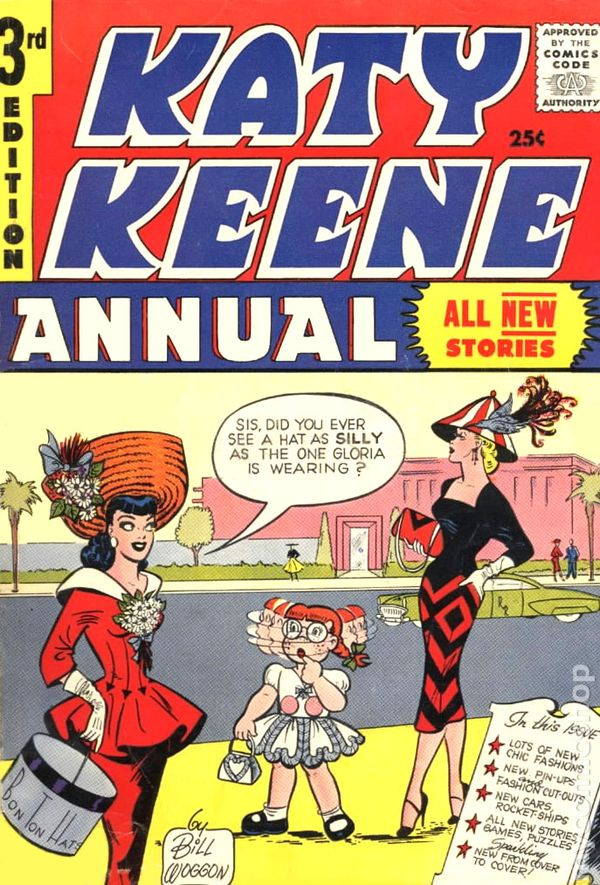 Katy Keene comic book 1950s