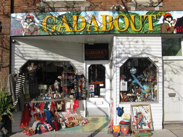 gadabout toronto vintage store
