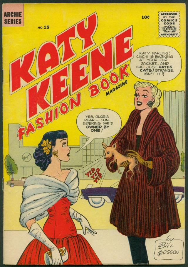 katy Keene comic book with gloria