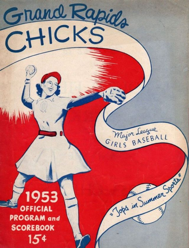 Grand Rapids chicks Women's Baseball 1953