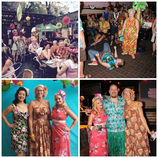 Tiki Lani Lanai Toronto Vintage society party