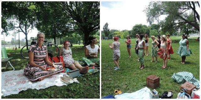Toronto Vintage society pinup picnic
