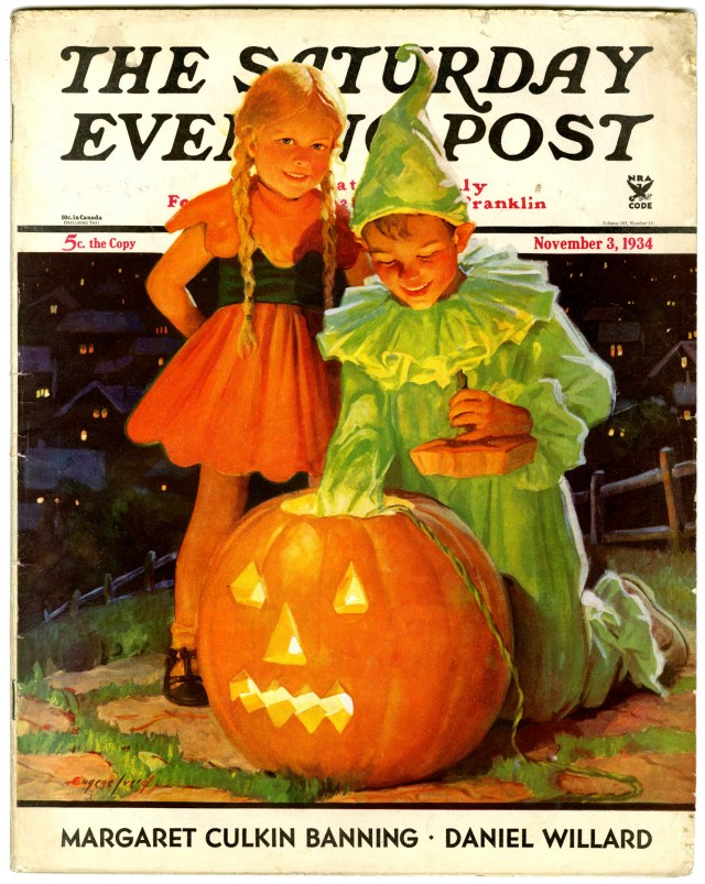 Halloween Saturday Evening Post 1934
